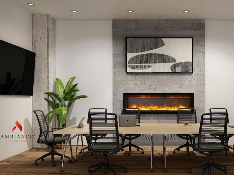 Foyer électrique Ambiance 50''