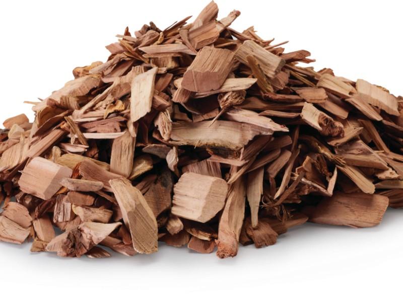 Copeaux de bois de hickory